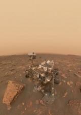 Rover сделал я спрыгнул на момент пыльной бури