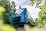 Первый в мире водородный поезд был запущен