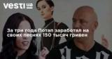 За три года Потап заработал на своих песнях 150 тысяч гривен